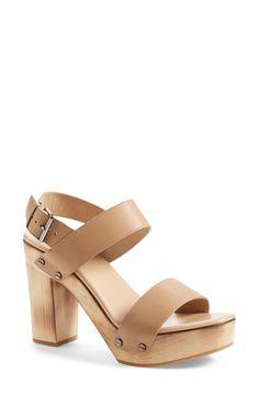 Vince 'Solange' Platform Sandal (Women) available at #Nordstrom