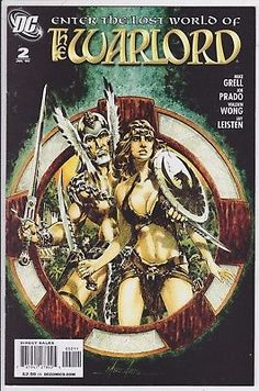 The Warlord #2 DC comics 2009 comic book Enter the lost World