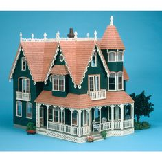 Spend quality time together as a family constructing and accessorizing this Garfield wood dollhouse. The construction of this dollhouse makes assembly easy. The unpainted finish allows you to personalize this dollhouse in your own unique way.