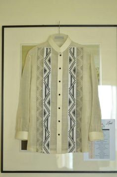 My husband wore a Barong Tagalog by Onesimus in our wedding. Barong Tagalog, Tribal Costume, Maria Clara, Our Wedding, Wedding Ideas, All About Fashion, Kimono Top, Gowns, Costumes