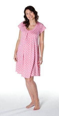 Baby Be Mine Maternity / Nursing Nightgown