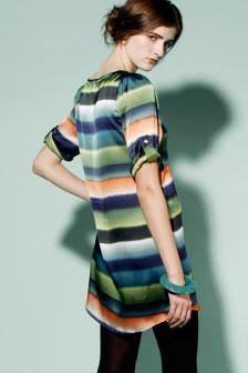 Sale! Ombre Stripe Dress http://thriftedandmodern.com/ombre-stripe-dress