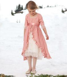 pink vintage fairy-tale dress - Chasing Fireflies