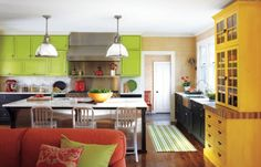 Spiced Up Kitchen Color Combos