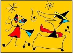 Joan Miro, Magritte, Red Riding Hood, Art Plastique, Little Red, Hobbies And Crafts, Pikachu, Drawings, Artwork