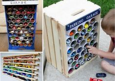 Kids Car Storage