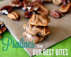 New Orleans Style Pralines. Need to try.
