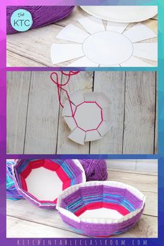 Weave a Bowl from a Paper Plate