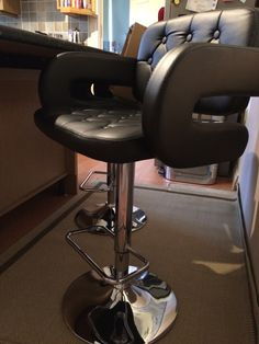 One Of Lakeland Furnitures Chase Black Bar Stools Looking Great In A  Customers Home! For