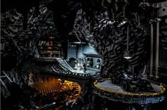 Holy Lego Batman - its the batcave !!