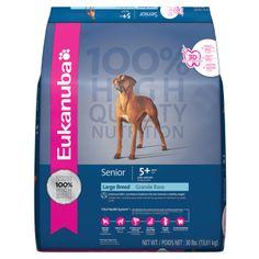 Eukanuba Senior Large Breed Formula Dog Food