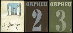 Revista Orpheu (1915). Revista responsável pela introdução do Futurismo em Portugal, associada a nomes como Fernando Pessoa, Mário de Sá Carneiro e Almada Negreiros.