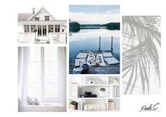#white #mood #moodboard #interior #allwhite #lakehouse
