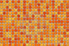 Glass Tile Kitchen Backsplash Designs | Orange Tiles