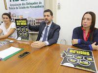 Taís Paranhos: Mais de 200 delegados decidem não realizar plantõe...