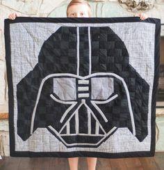 Darth Vader Free Quilt Pattern