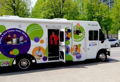 Bookmobile, Buffalo and Erie County (N.Y.) Public Library.