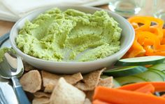 Green Garbanzo Hummus
