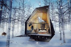 Cabin in the Woods by Architects at26