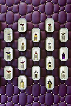 Penhaligons boutique by Christopher Jenner visual merchandising