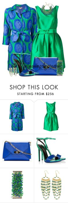 """""""P.A.R.O.S.H."""" by mzmamie ❤ liked on Polyvore featuring P.A.R.O.S.H., Givenchy, Yves Saint Laurent and Rosantica"""