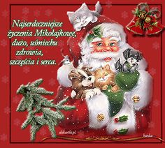 Święta Bożego Narodzenia: Animowane kartki życzeniami bożonarodzeniowymi Christmas Wishes, Christmas Time, Christmas Ornaments, Ded Moroz, Public Holidays, Holiday Decor, Handmade, Diy, Crafts