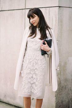 Vanessa Jackman: London Fashion Week AW 2014....Caroline