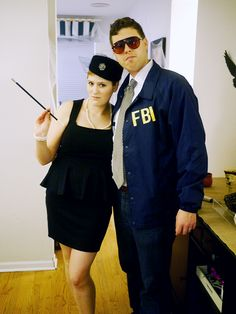 8d7dc1a76 Janet Snakehole and Burt Macklin Couples Costume