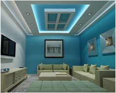 Large catalog for plaster designs for false ceilings for all rooms in modern style. 25 modern plaster ceiling designs with integrated LED ceiling lighting systems to inspire you.