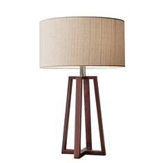 "$193 Adesso Quinn 23.75""H Table Lamp with Drum Shade 