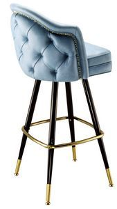 Model 2566 is our largest bar stool. This deluxe restaurant bar stool can be upholstered in the color of your choice. Select between several wood leg options, brown metal, and black metal. Foot rest, ferrules and glides can be done in brass or chrome. Restaurant Bar Stools, Restaurant Design, Cool Chairs, Bar Chairs, Office Chairs, Bar Furniture, Furniture Design, Commercial Bar Stools, Upholstered Bar Stools