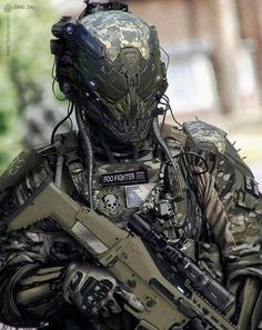 Airsoft hub is a social network that connects people with a passion for airsoft. Talk about the latest airsoft guns, tactical gear or simply share with others on this network Military Gear, Military Weapons, Military Robot, Military Equipment, Military Vehicles, Suit Of Armor, Body Armor, Helmet Armor, Taktischer Helm