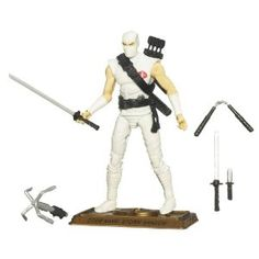 GI Joe Anniversary Hall of Heros -  WHITE STORM SHADOW (Toy) www.amazon.com/...