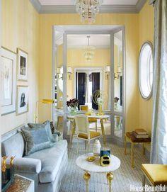 Yellow classic lounge