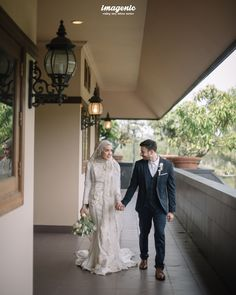 Wedding Farhad and Hamidah by Imagenic - 013 Source by dresses hijab Kebaya Wedding, Muslimah Wedding Dress, Muslim Wedding Dresses, Hijab Bride, Wedding Hijab, Boho Wedding Dress, Wedding Bride, Decor Wedding, Garden Wedding