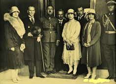 Afganistan Kralı Amanullah Han, İsmet İnönü ve Mustafa Kemal Atatürk, Ankara, 1928
