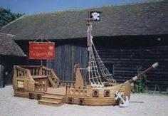 pirate ship prop - Google Search