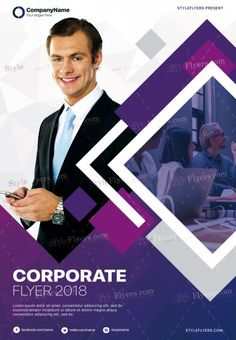 Corporate PSD Flyer Template and more than Premium PSD flyer templates for event, loud party or successfull business. Graphic Design Brochure, Church Graphic Design, Graphic Design Posters, City Poster, Poster S, Event Poster Template, Business Flyer Templates, Corporate Flyer, Corporate Design