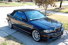 BMW E46 3 series convertible
