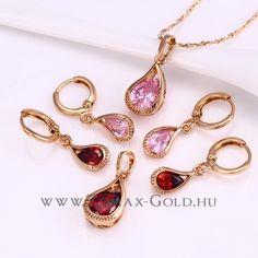 Telma szett - Zomax Gold divatékszer www.zomax-gold.hu Personalized Items, Gold, Jewels, Yellow
