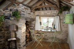 This English Cottage Was Made for a Charmed Life Storybook Cottage in Cornwall – Country Cottage Home Tour Fairytale Cottage, Storybook Cottage, Romantic Cottage, Romantic Homes, Shabby Cottage, Shabby Chic, Cottage Names, English Cottage Interiors, Cornwall Cottages