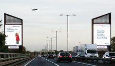 Créés par l'équipe d'Ogilvy pour British Airways, ces panneaux d'affichage interactifs sont  installés à Chiswick et sur la place londonienne Piccadilly Circus. Ils montrent, de manière interactive et en temps réel, des informations sur le vol qui passe à proximité. Utilisant une technologie de surveillance faite sur mesure, les panneaux affichent le numéro de vol, la destination... tout cela relayé sur une vidéo enregistrée d'un enfant qui pointe du doigt l'avion.