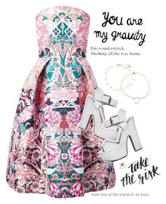 """••••"" by fashionistaofthefuture ❤ liked on Polyvore featuring mode, Mary Katrantzou, Accessorize et Dogeared"