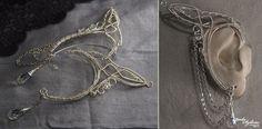 Galadriel ear wrap - 1 pair by bodaszilvia.deviantart.com on @DeviantArt