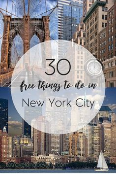 30 FREE Things To Do In New York City | What to do and see in NYC | things to do NYC | To Travel and Beyond Travel To New York City, New York City Vacation, New York City Tourism, Things To Do In, Brooklyn Things To Do, Summer In Nyc, New York Summer, Winter In Nyc, New York Winter