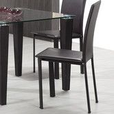 Found it at Wayfair - Arcane Leatherette Dining Chair