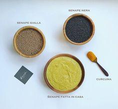 Qui vi lasciamo gli ingredienti della nostra senape fatta in casa! Buona, semplice e naturale.   #ecruroma #raw #naturalfood #bio