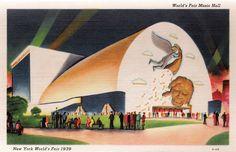 World's Fair Music Hall -1939-40 New York World's Fair