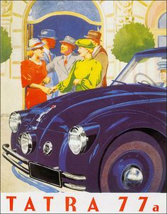 Tatra 1937 Monte Carlo, Vintage Ads, Cars, Vehicles, Posters, Poster, Rolling Stock, Postres, Autos