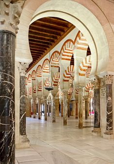 The Mezquita of Córdoba, next trip to Spain. Cordoba Andalucia, Andalucia Spain, Oh The Places You'll Go, Places To Travel, Places To Visit, Lumiere Photo, Islamic Architecture, Spain And Portugal, Moorish